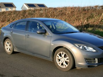 Silver Mazda 6 in very good condition