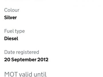 2012 AUDI A6 3.0 TDI