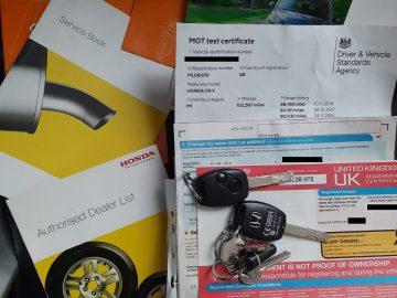 2008 HONDA CR-V ES I-VTEC Estate ULEZ 2 keys – Or Best Offer