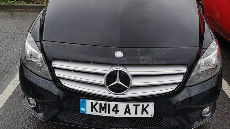 Mercedes B180 automatic